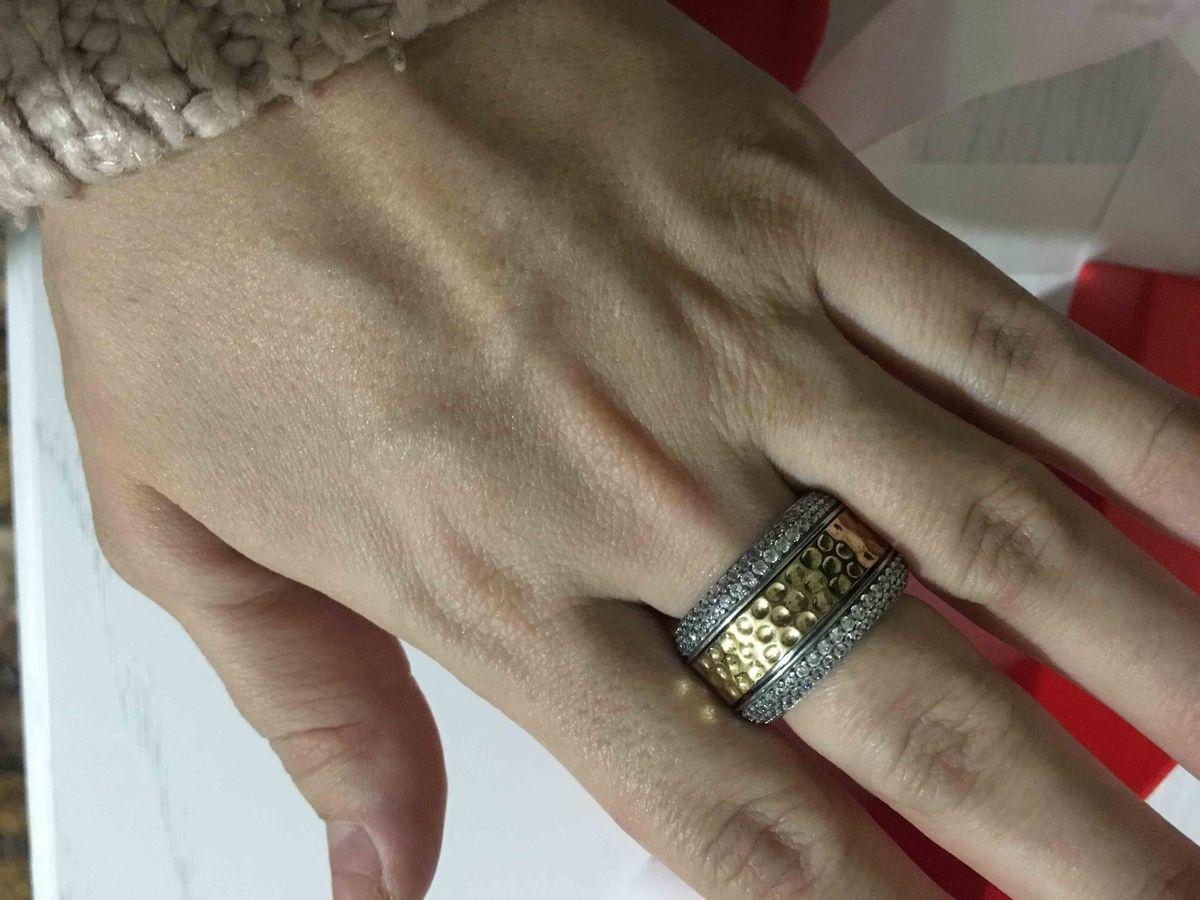 Массивное кольцо 💍