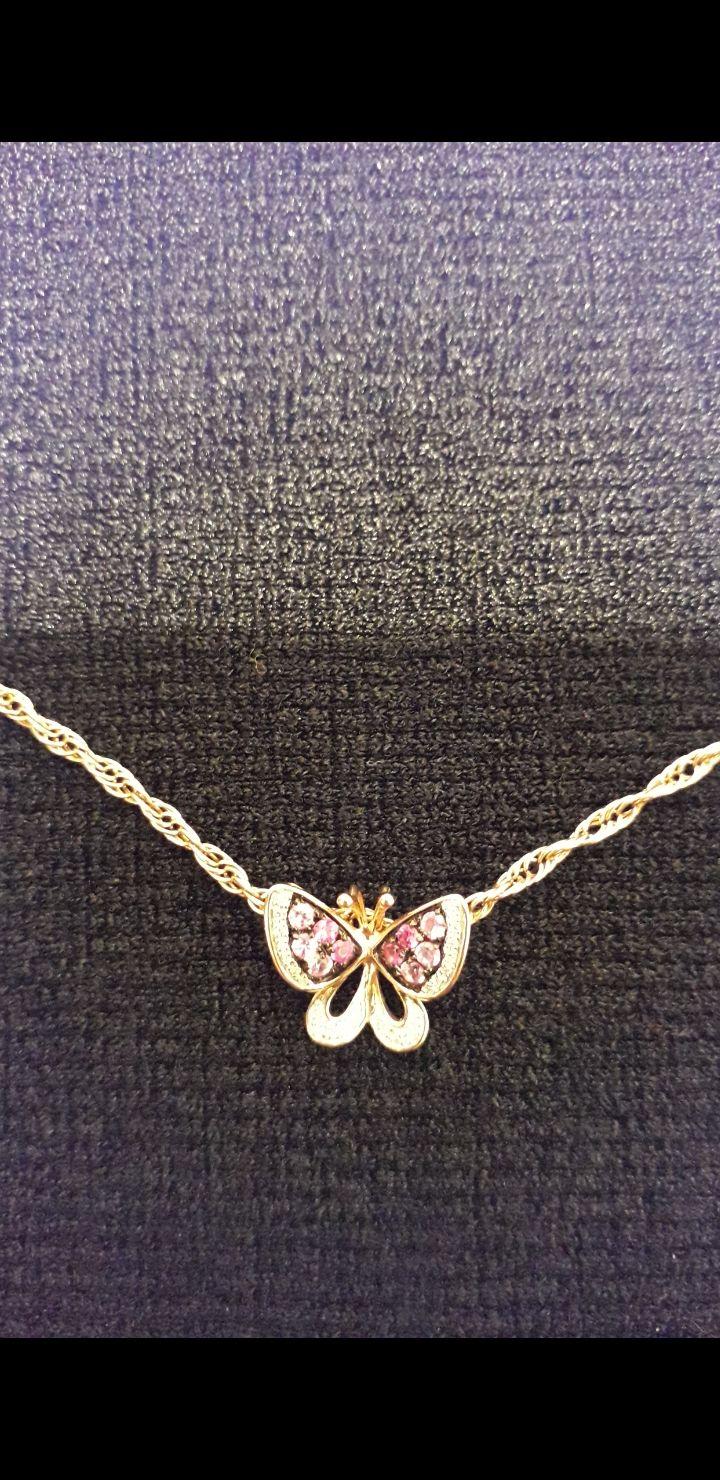 Подвеска-бабочка