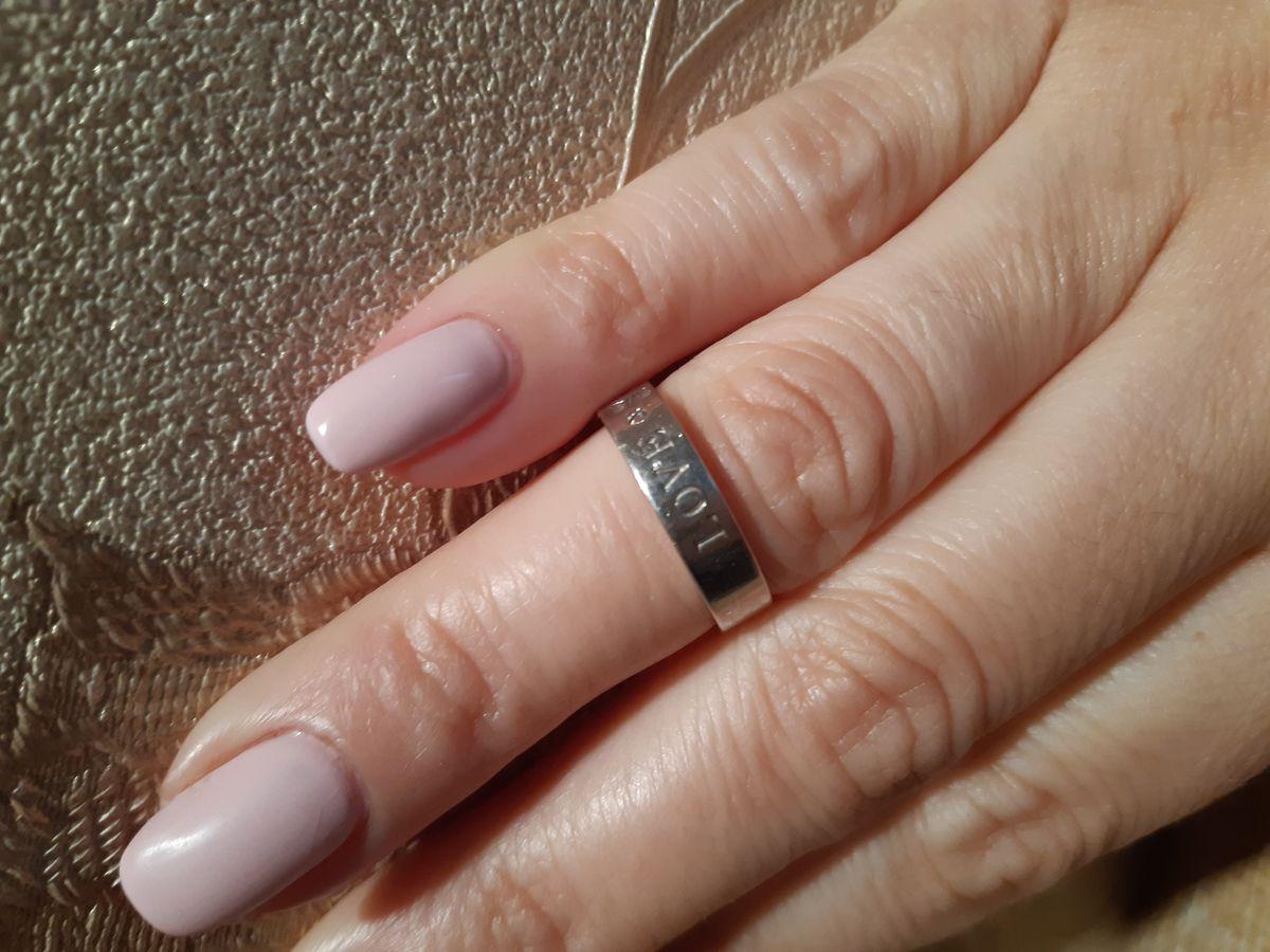 Кольцо серебро, фианит.