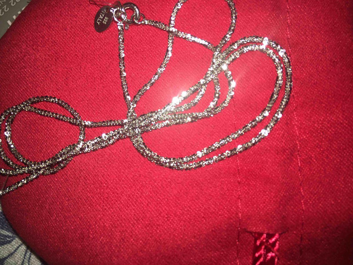 Цепочка серебряная в подарок