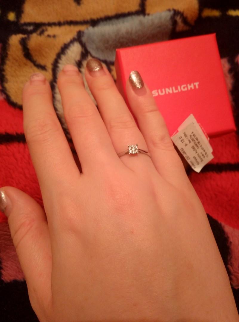 Кольцо для помолвки для любимой