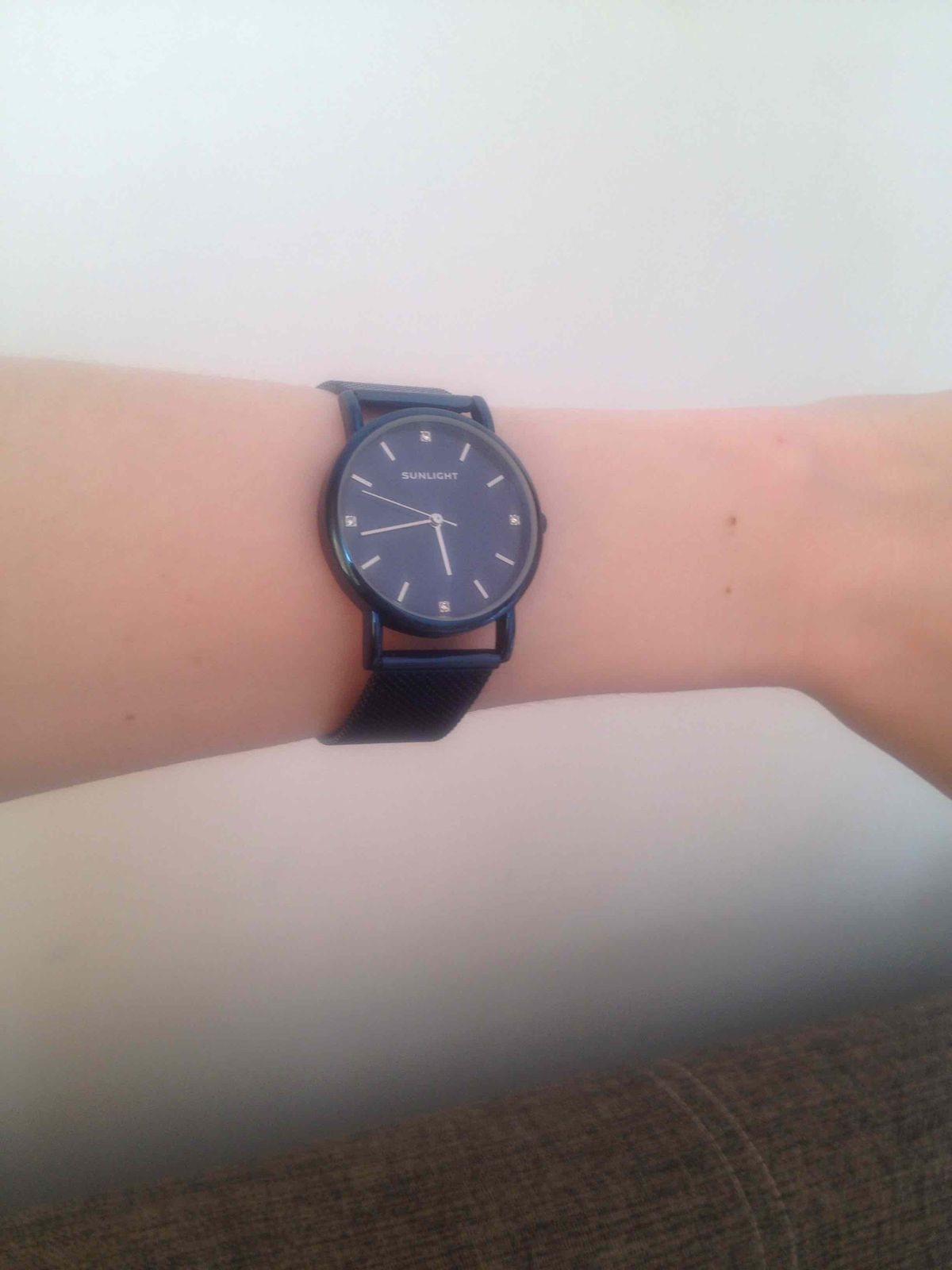 Часы Санлайт синие