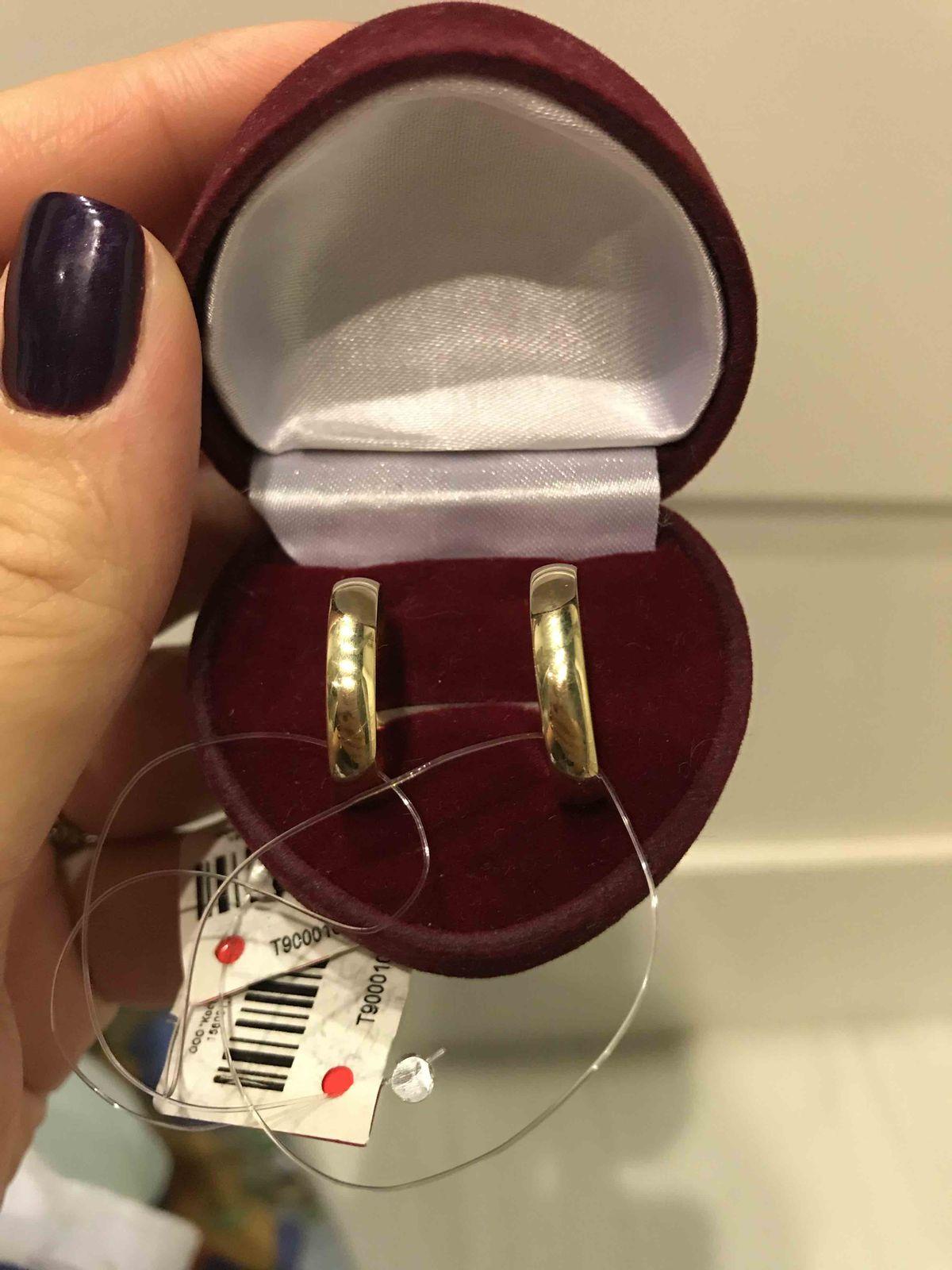 Отличное классическое обручальное кольцо