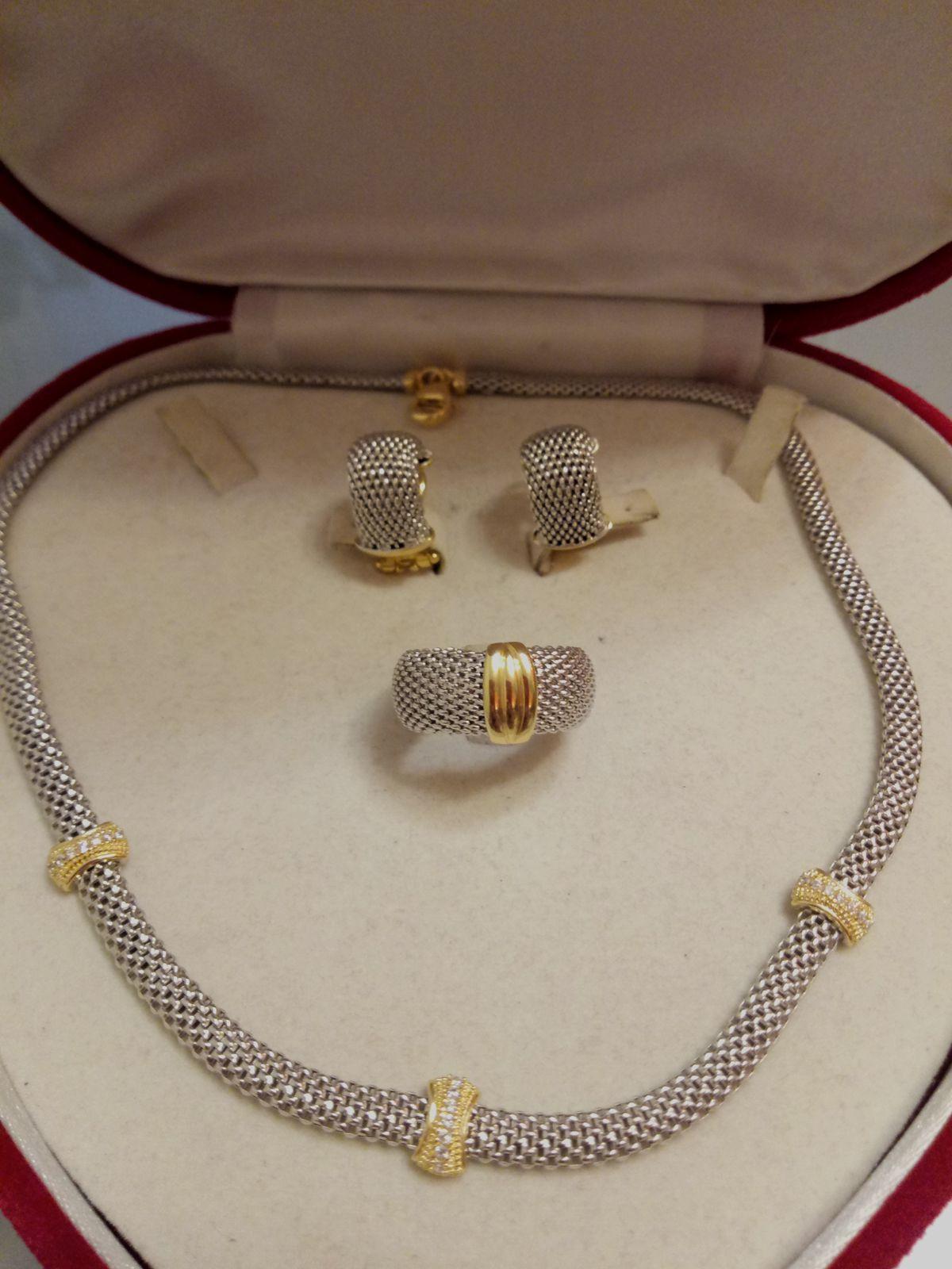 Покупаю третью вещь из серии Amalfi! До колье было куплено кольцо и серьги!