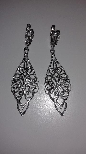 Ажурное  серебро