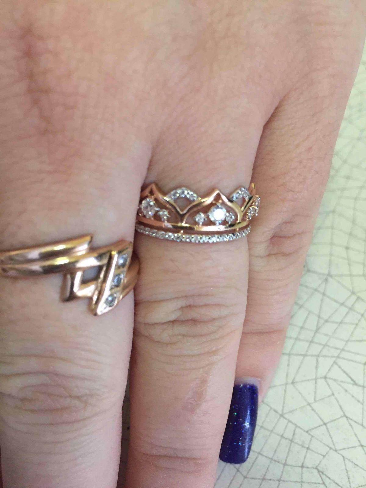 Корона кольцо