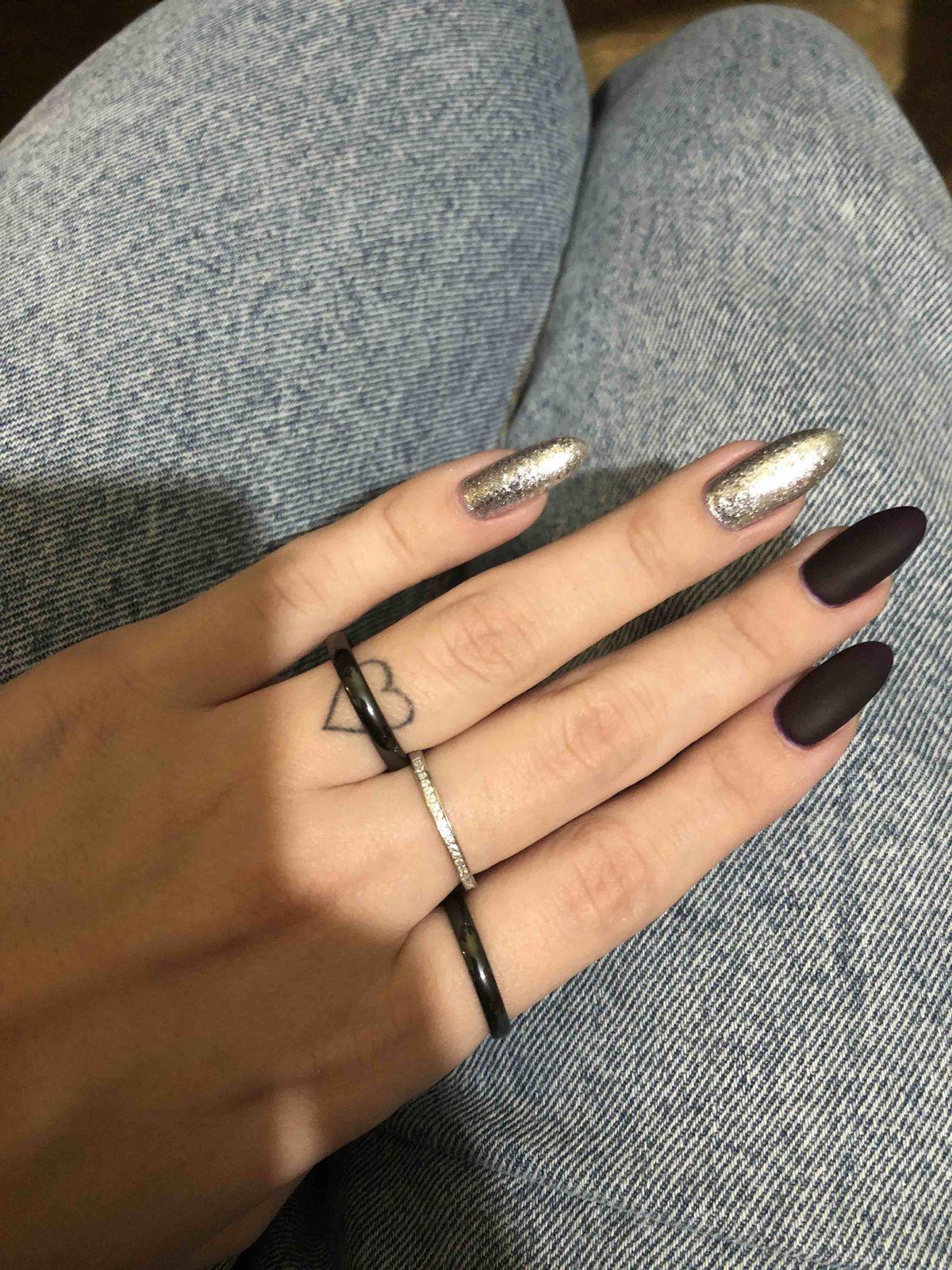Керамическое кольцо тройка