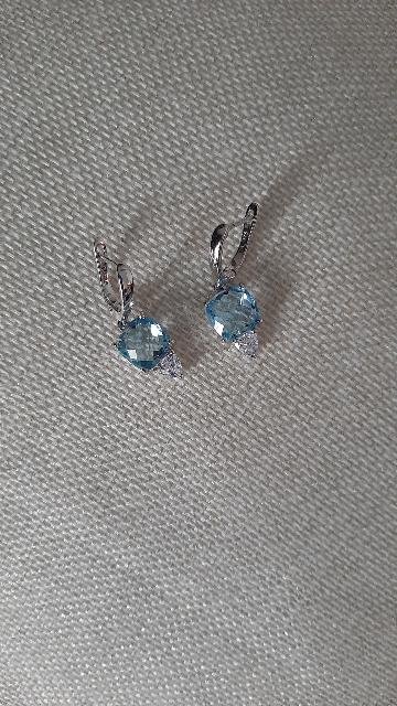 Мои голубые кристаллы.