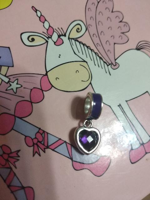Фиолетовое сердечко