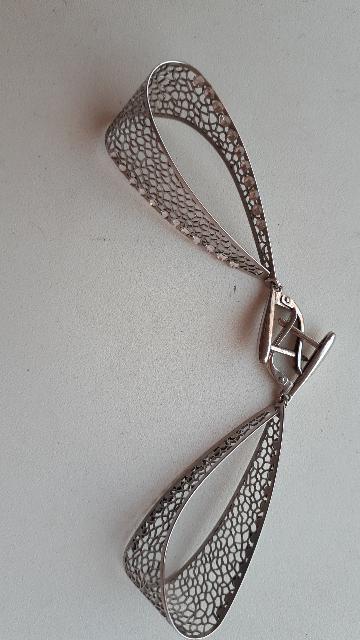 Серебренные сережки