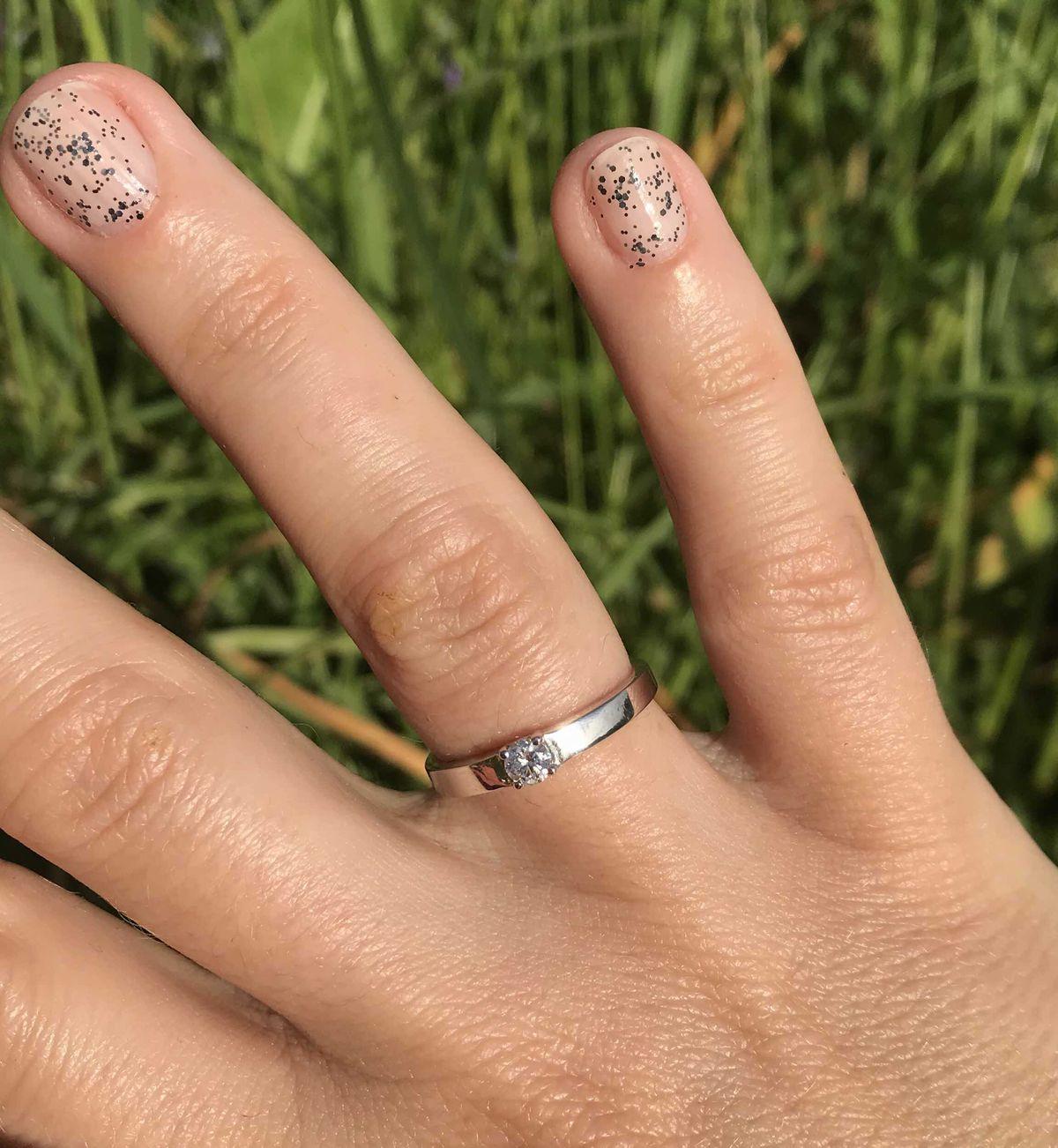 Кольцо для помолвки и свадьбы