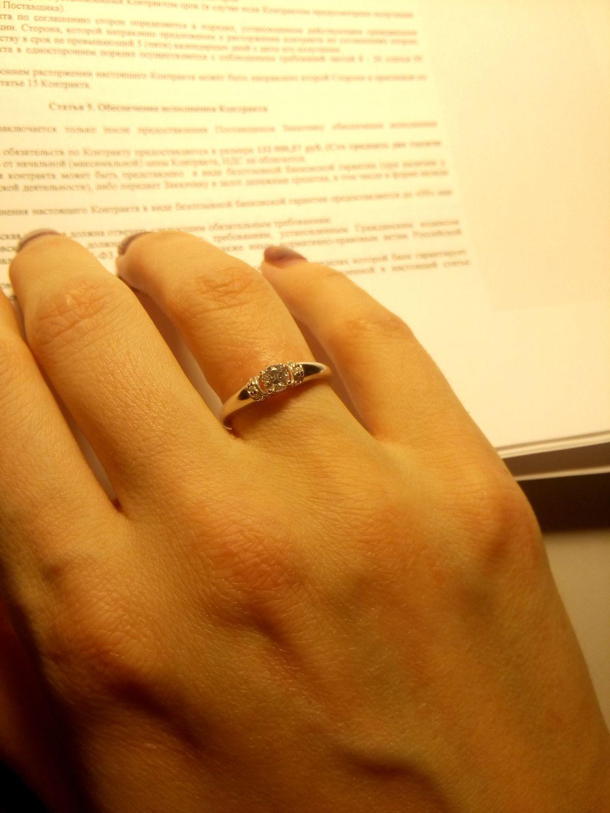 Красивое недорогое кольцо